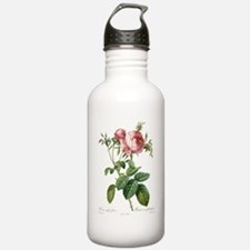 Lovely vintage pink ro Water Bottle