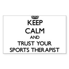 Keep Calm and Trust Your Sports arapist Decal