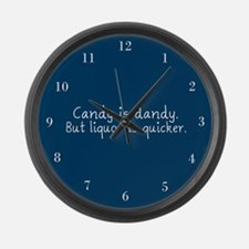 Candy is Dandy Large Wall Clock