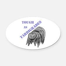 tough as tardigrades Oval Car Magnet