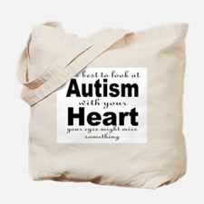 viewing autism Tote Bag