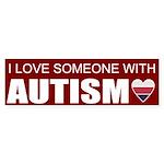 autism love Bumper Sticker