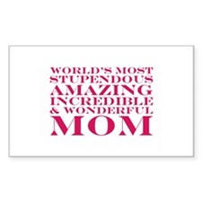 World's Most Amazing Mom Decal