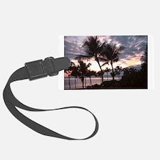 Hawaiian Sunset Luggage Tag
