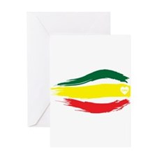 One Love Greeting Cards