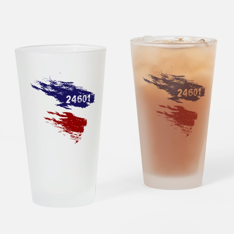 Who Am I? 24601 Drinking Glass