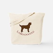 Labradoodle Dog Tote Bag