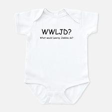Leeroy Jenkins Infant Bodysuit (B&W)