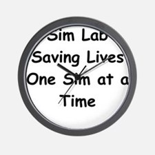Saving Lives Wall Clock