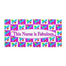 Butterfly Nurse Beach Towel