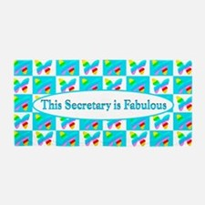 Top Secretary Beach Towel