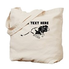 Custom Running Lion Tote Bag