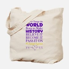 Cute Social change Tote Bag