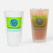 HAPPY NURSES WEEK 3 Drinking Glass