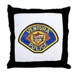 Ventura Police Throw Pillow