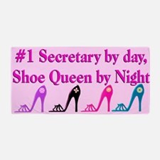 Secretary Shoes Beach Towel