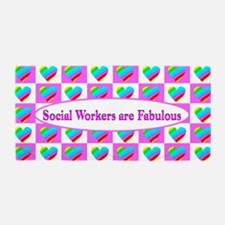 Love Social Work Beach Towel