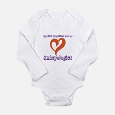 Unique Frozen embryo Long Sleeve Infant Bodysuit