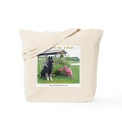 Real Shiloh Shepherd Tote Bag