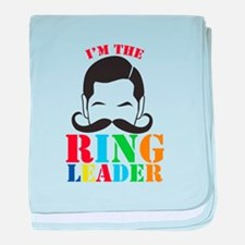 Im the RING LEADER with man curly mustache baby bl