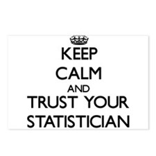 Keep Calm and Trust Your Statistician Postcards (P