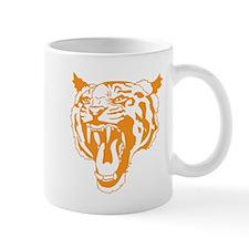 Orange Tiger Head Mugs