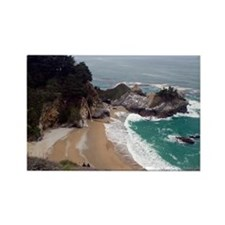 McWay Falls California Rectangle Magnet