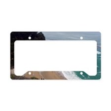 McWay Falls California License Plate Holder