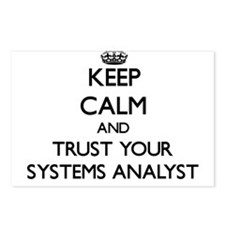 Keep Calm and Trust Your Systems Analyst Postcards