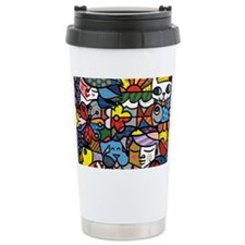 cute art Travel Mug