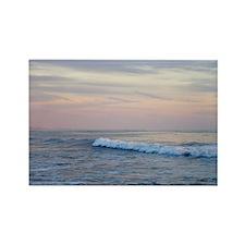 Sunset Surf Rectangle Magnet
