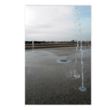 sandylands fountains Postcards (Package of 8)
