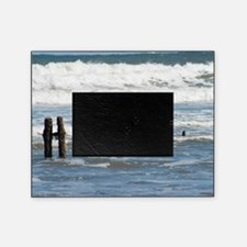 Coastal defenses at Sandsend Picture Frame