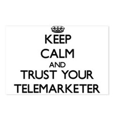 Keep Calm and Trust Your Telemarketer Postcards (P