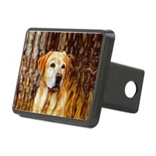 Yellow Lab Hitch Cover