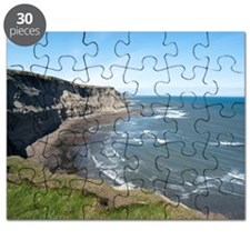 View along the Yorkshire coastline Puzzle