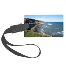 View along the Yorkshire coastli Luggage Tag