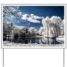 Weeping Willow Infrared Yard Sign
