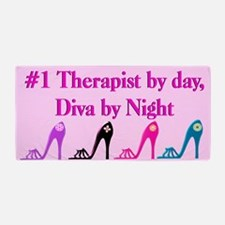 Therapist Diva Beach Towel