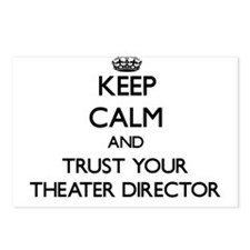 Keep Calm and Trust Your aater Director Postcards