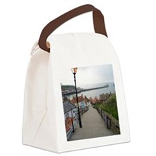 199 church steps in Whitby Canvas Lunch Bag