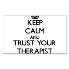 Keep Calm and Trust Your arapist Decal