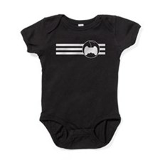 Video Games Stripes Baby Bodysuit