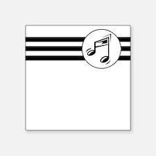 Music Stripes Sticker