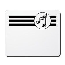 Music Stripes Mousepad