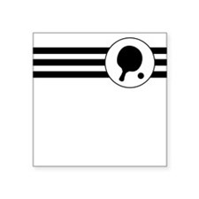 Table Tennis Stripes Sticker
