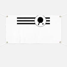 Table Tennis Stripes Banner