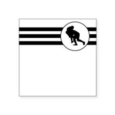 Rugby Stripes Sticker