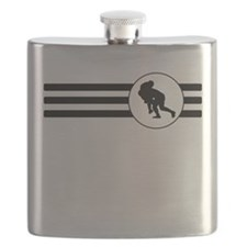 Rugby Stripes Flask