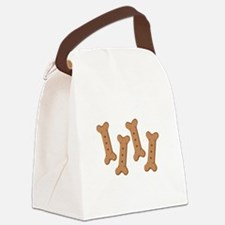 Puppy Dog Biscuits Bone Treats Canvas Lunch Bag